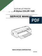Epson 1520 Service Manual Part 1