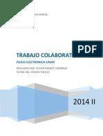 FISICA ELECTRONICA-TRABAJO COLABORATIVO 3+