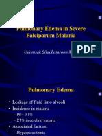 PE in Malaria