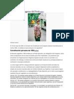 Análisis Del Congreso Del Perú
