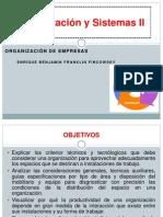 Organzación y Sistemas II-1