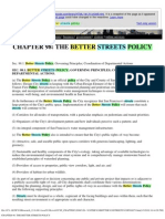 ccsf_chapter 98 -- the better streets policy