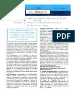 Articulo Empleo Del Hexano en La Extracción de Aceite de Palma Fianl