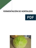 Fermentación de Hortalizas