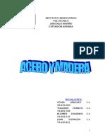 Acero y Madera.........................