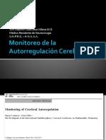 Monitoreo de La Autorregulación Cerebral.
