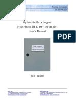 Hydrotide User's Manual Rev D