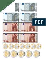 euro printout
