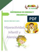 Trabajo Escrito Hiperactividad y Alergia