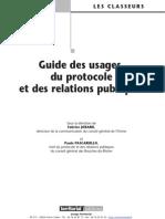 Guide Des Usages Du Protocole Et Des Relations Publiques