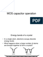 Mos Mosfet Operation