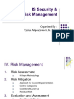 IT Security Risk Management Lecture 3