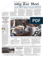 The Daily Tar Heel for Nov. 21, 2014