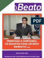 """Edição de Janeiro de 2010 do Boletim Informativo """"O Beato"""""""