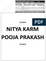 Nitya Karm Puja
