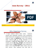 Happiness Survey 2011
