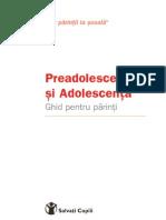 Adolescenta - ghid pentru parinti - Domnica Petrovai 2008