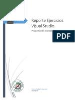 Reporte Ejercicios Visual Studio