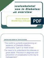 Musculoskeletal Infections in Diabetes Mellitus