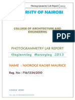 Photogrammetry Labs Final