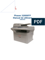 Manual de Utilizare Phaser-3200mfp