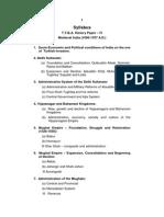T.Y.B.a. History Paper - IV - Medival India (1000 - 1707 a.D.) (Eng)