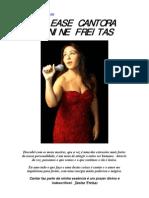 Release Cantora Janine Freitas