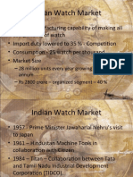 Indian Watch Market