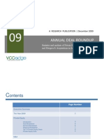 Annual Deal Roundup 2009