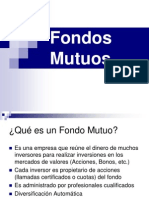 Clase 08 Fondos Mutuos