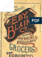 (1895) With Compliments of the Ebay, Blain Co., Ltd.