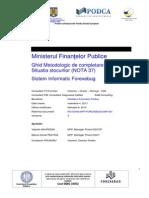 Ghid Metodologic de Completare Formular Situatia Stocurilor (NOTA 37)_v3.0