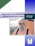Entrevista a Leonardo Boff