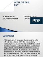 Bottled Water Versus the Environment Case Study PPT.pptx