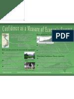 Confidence as a Measure of Economic Success