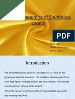 Techno-Economics of Shuttle Less Looms