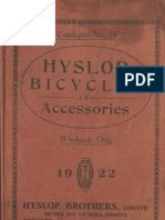 (1922) Hyslop Bicycles and Accessories