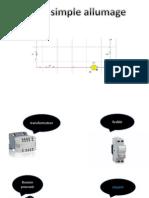 Montage simple - double allumage - Télérupteur