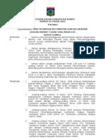 Peraturan Daerah Kecamatan Nomor 09 Tahun 2008