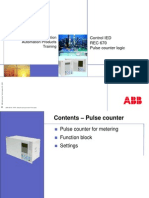 ABB REC 670 Pulse Counter