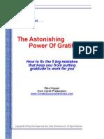 The Astonishing Power of Gratitude
