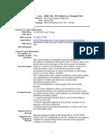 UT Dallas Syllabus for ishd3343.501.10s taught by Jacoba Vanbeveren (jtv013100)