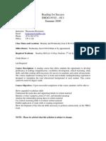 UT Dallas Syllabus for drdg0v92.0u1.09u taught by Thomasina Hickmann (hickmann)