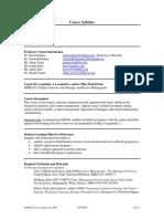 UT Dallas Syllabus for opre6372.pjm.08f taught by Sue Freedman (sxf027000)