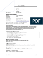 UT Dallas Syllabus for ee6363.001.08f taught by Nasser Kehtarnavaz (nxk019000)