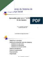 Bases Gerais Sistema Seguranca Social Lei 4 2007