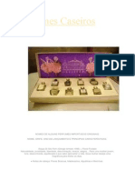 Perfumes Caseiro-nomes de Alguns Perfumes Importados Originais