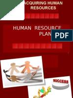 Human Resourse Planing