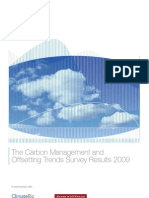 The Carbon Management and Offsetting Trends Survey Results