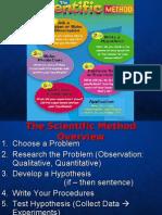 Seientific Methods